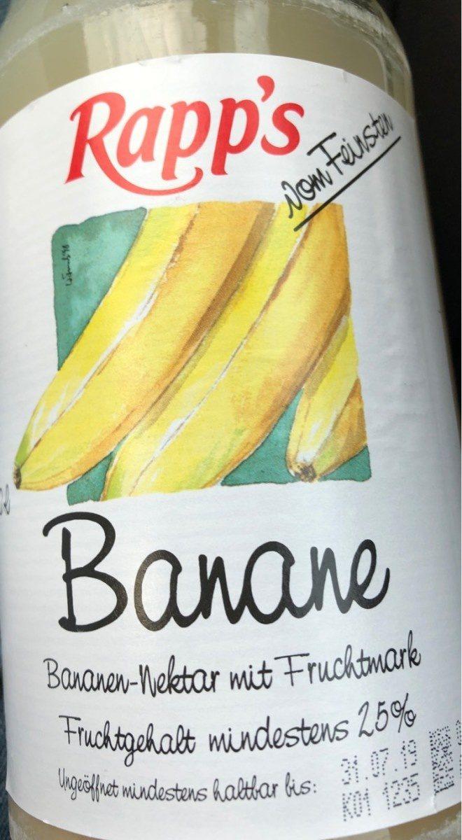 Bananen-Nektar mit Fruchtmark - Produit