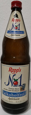 Rapp's Apfelwein alkoholfrei - Produkt - de