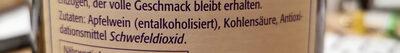 Rapp's Apfelwein alkoholfrei - Zutaten - de