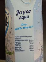 Joyce Aqua - Informations nutritionnelles - de