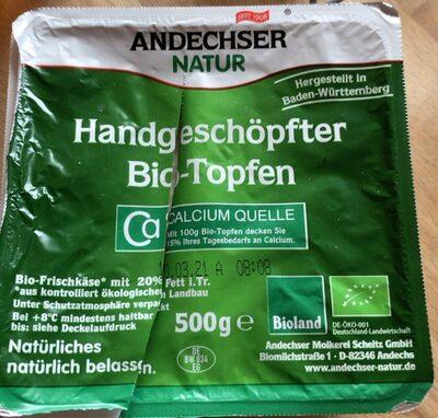 Handgeschöpfter Bio-Topfen - Produkt - de