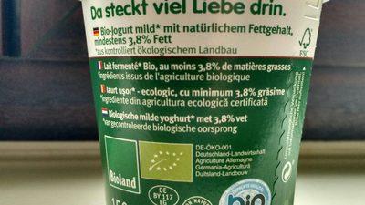 Andechser Bio Jogurt - Ingrédients