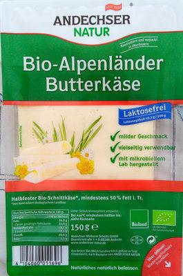 Bio-Alpenländer Butterkäse - Produkt
