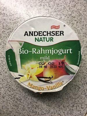 Bio-Rahmjogurt Mango-Vanille - Product - de