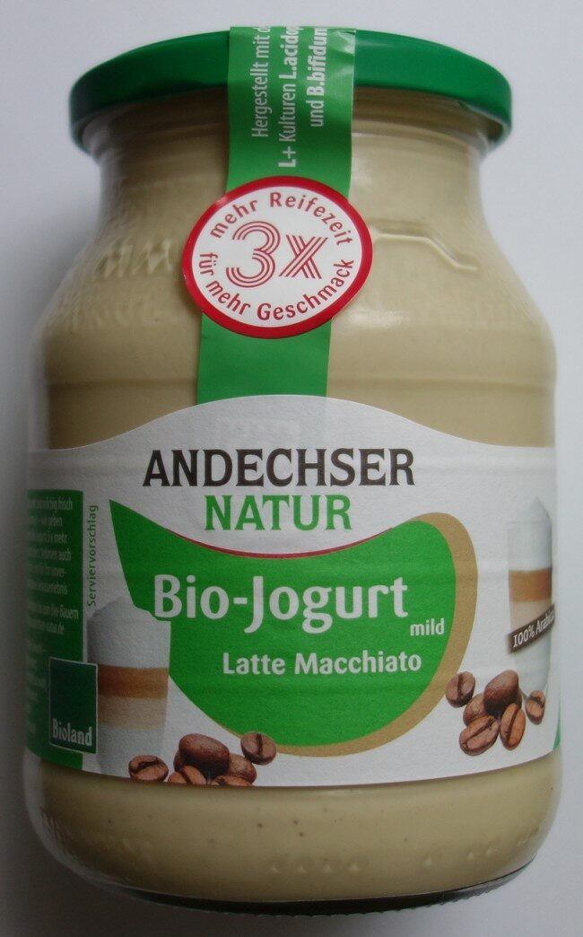 Yaourt Latte Machiato 3,7%MG - Produkt - de
