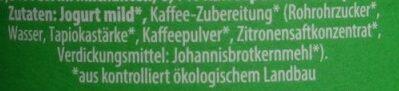 Yaourt Latte Machiato 3,7%MG - Zutaten - de