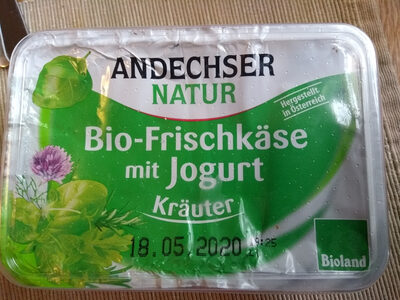 Bio-Frischkäsezubereitung Kräuter - Product - de