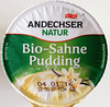 Bio-Sahne Pudding Vanille - Product
