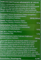 Lait de Chèvre Andechser nature - Nutrition facts - fr