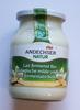 Laif fermenté Bio - vanille - Prodotto