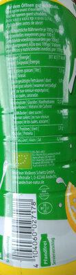 Fettarmer Bio-Kefir mild Zitrone - Voedingswaarden