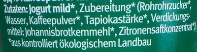 Bio-Kaffee - Ingredients