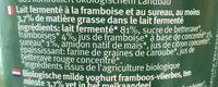 Bio jogurt mild - Ingrédients - fr