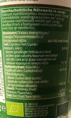 Bio jogurt mild - Informations nutritionnelles - fr