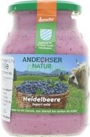 Andechser Natur - Joghurt mild Heidelbeere - Produit - fr