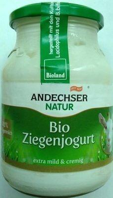 Bio Ziegenjogurt - Produkt - de