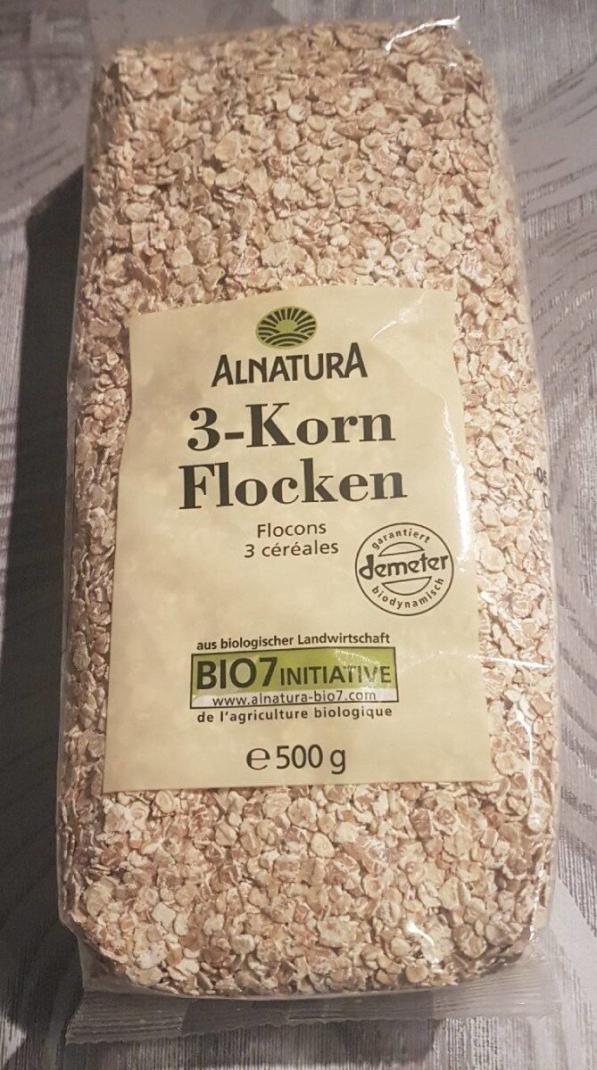 Flocons 3 céréales - Prodotto - de