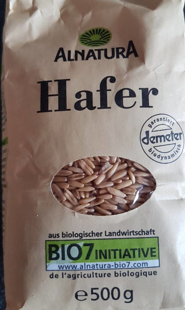 Alnatura Hafer - Produit - fr
