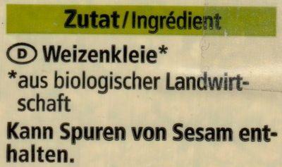 Weizen Kleie - Ingredients - de