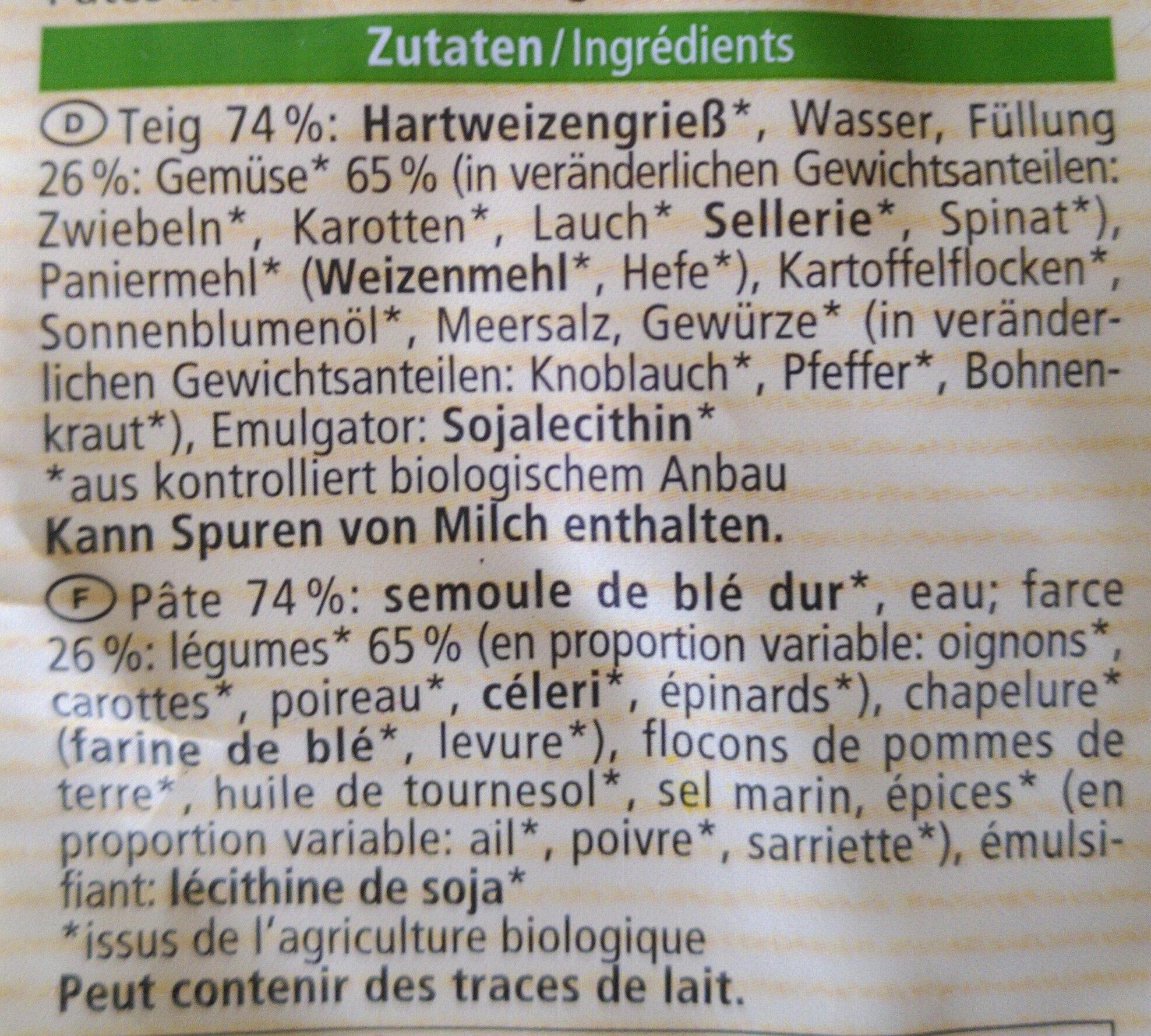Tortellini - Ingredients - en