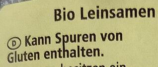 Leinsamen - Zutaten - de