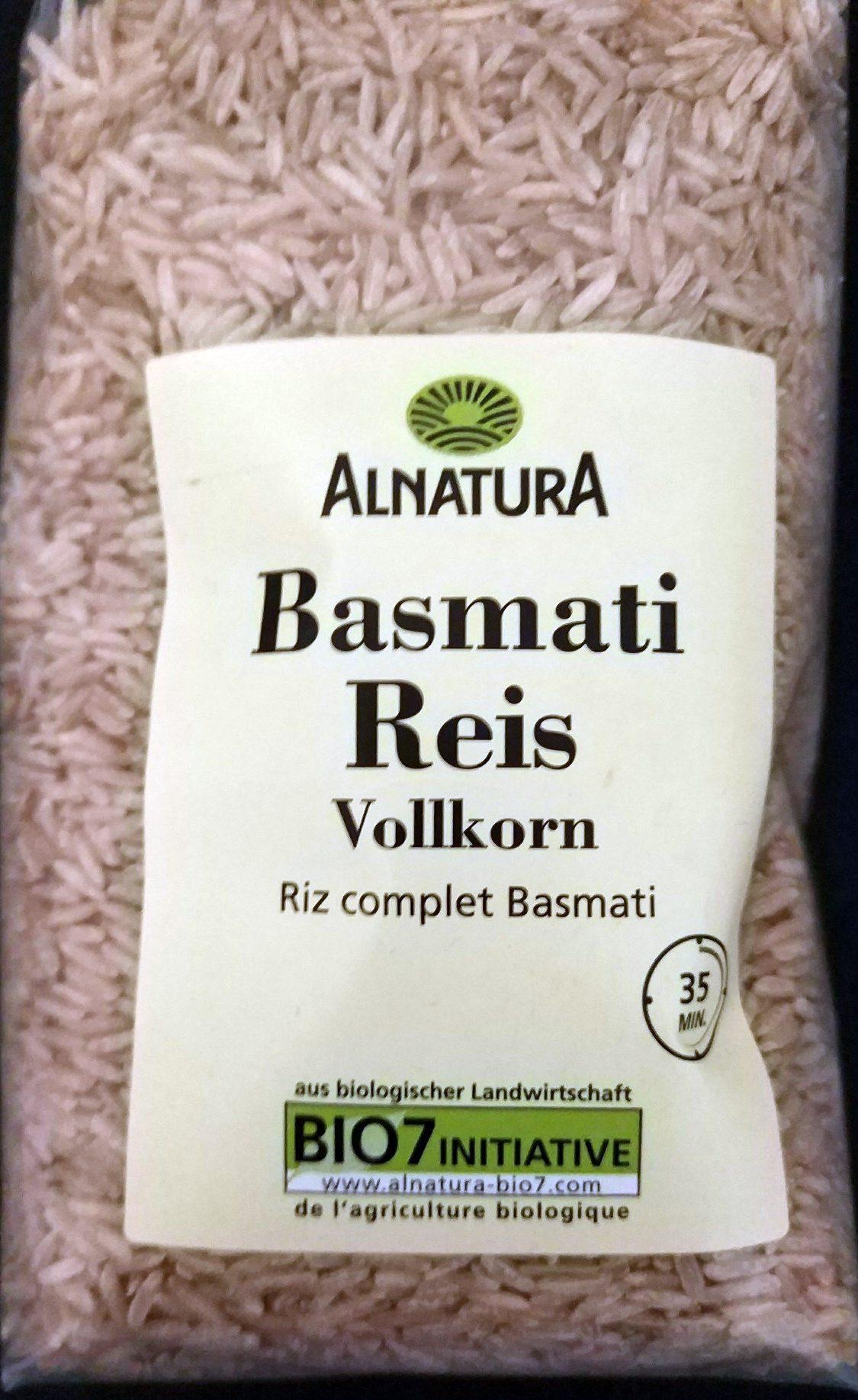 Basmati Reis Natur - Produit - de