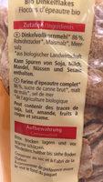Dinkel Flakes - Ingrediënten - fr