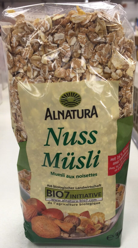 Muesli aux noisettes - Produkt - de