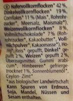 Ours croustillant - Zutaten - de