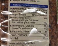School Hafer Crunchy - Nährwertangaben - de