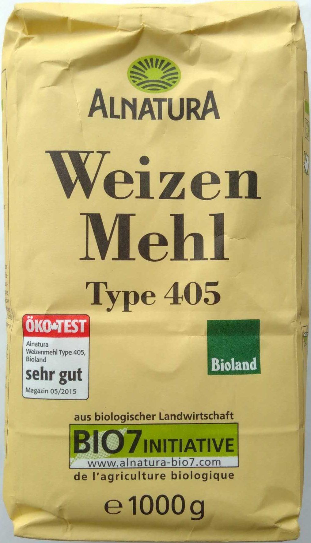 Weizenmehl Type 405 - Produkt - de