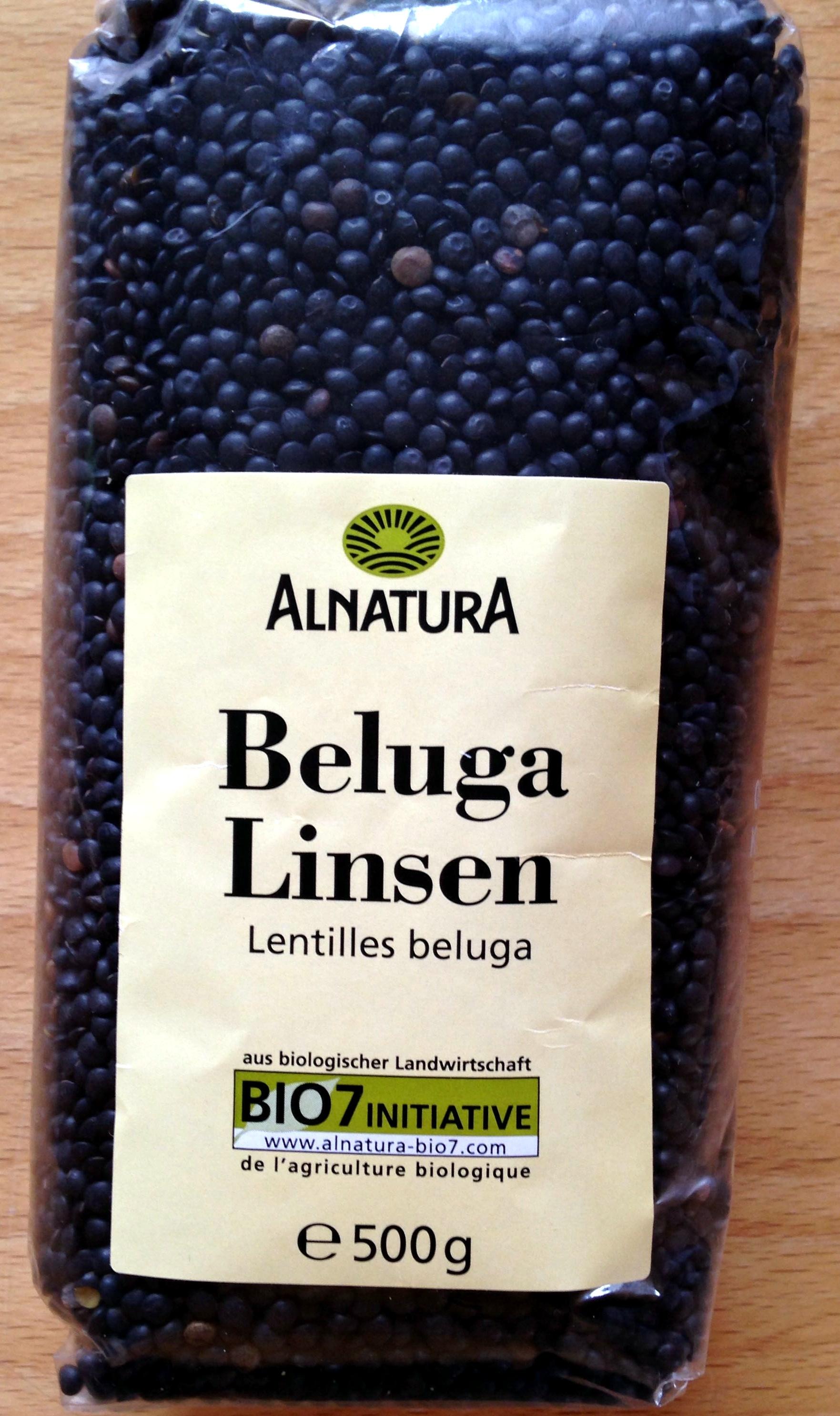 Beluga Linsen - Produit - de