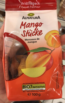 Morceaux De Mangue Paquet Fraîcheur - Product - fr