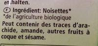 Haselnüsse - Ingredients - de