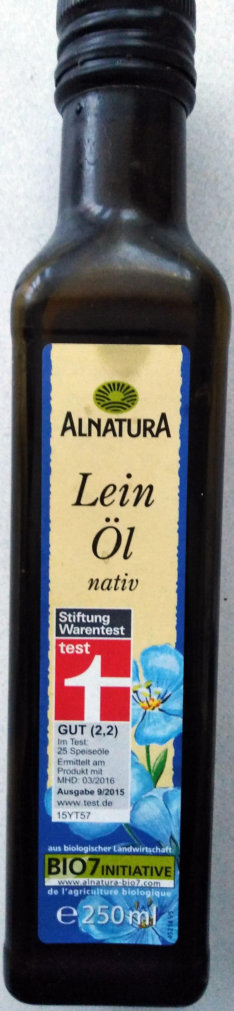 Leinöl, Nativ - Produit - de