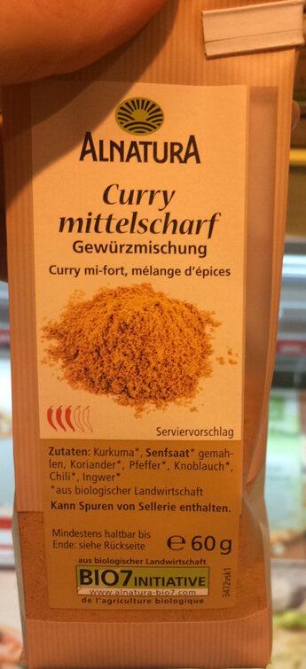 Curry mittelscharf - Produit