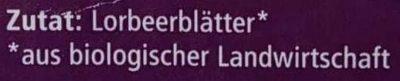 Lorbeer Blätter ganz - Ingredients - de