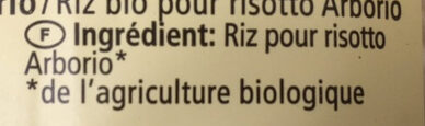 Risotto Reis Carnaroli - Ingrédients - fr