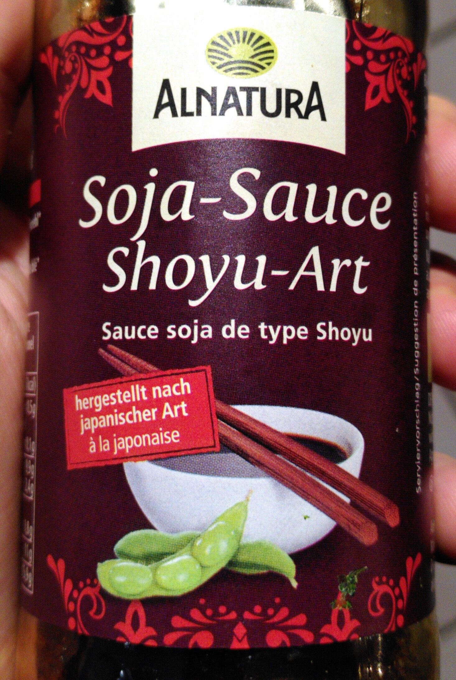 Soja-Sauce Shoyu-Art - Produit - de