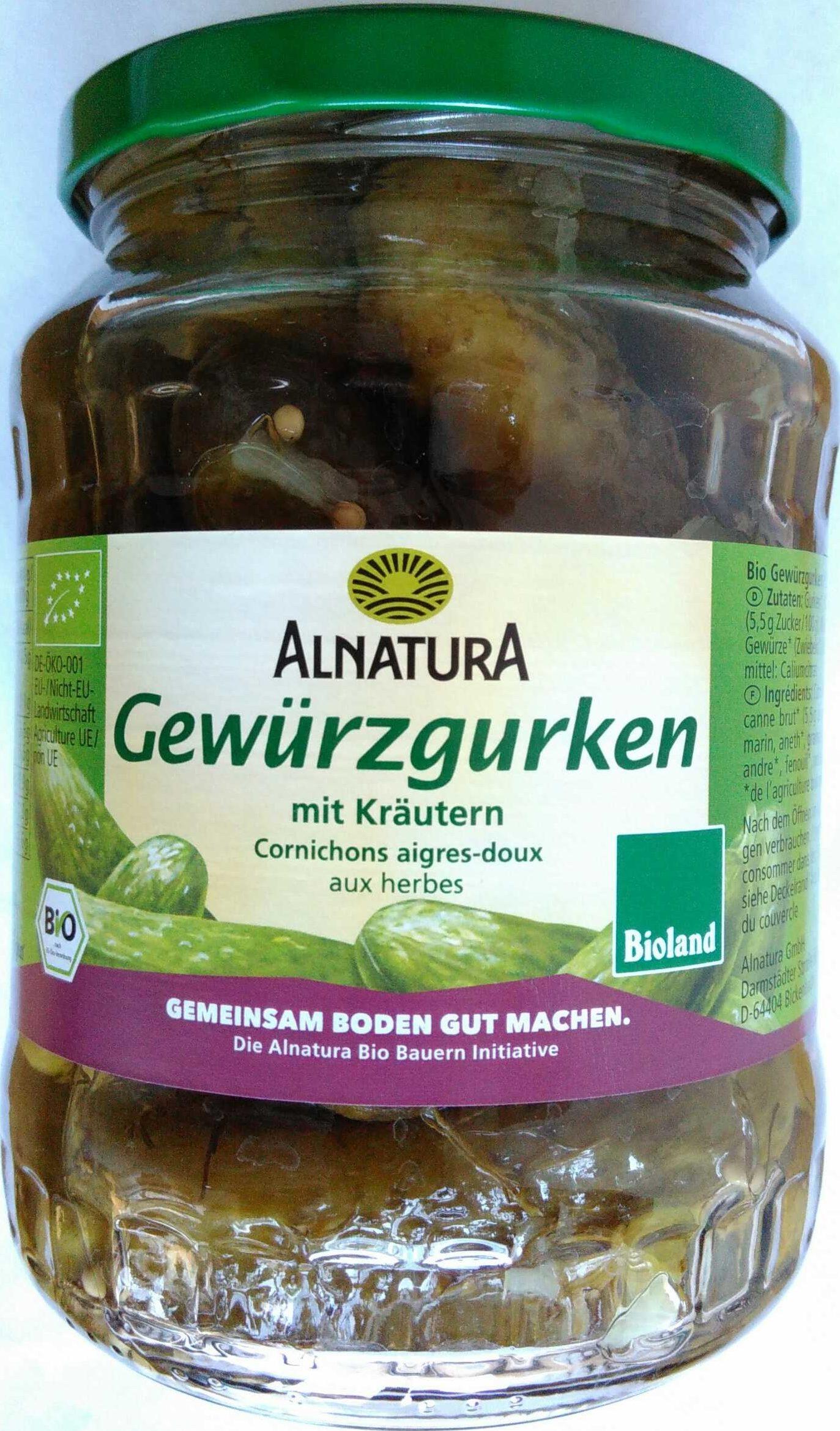 Gewürzgurken - Produit - de