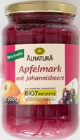 Apfelmark mit Johannisbeere - Product