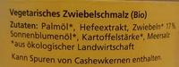 Zwiebel-Schmalz - Ingredients - de