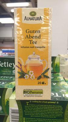 Infusion aux plantes bio - Product