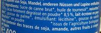Nuss Nougat - Ingredienti - fr