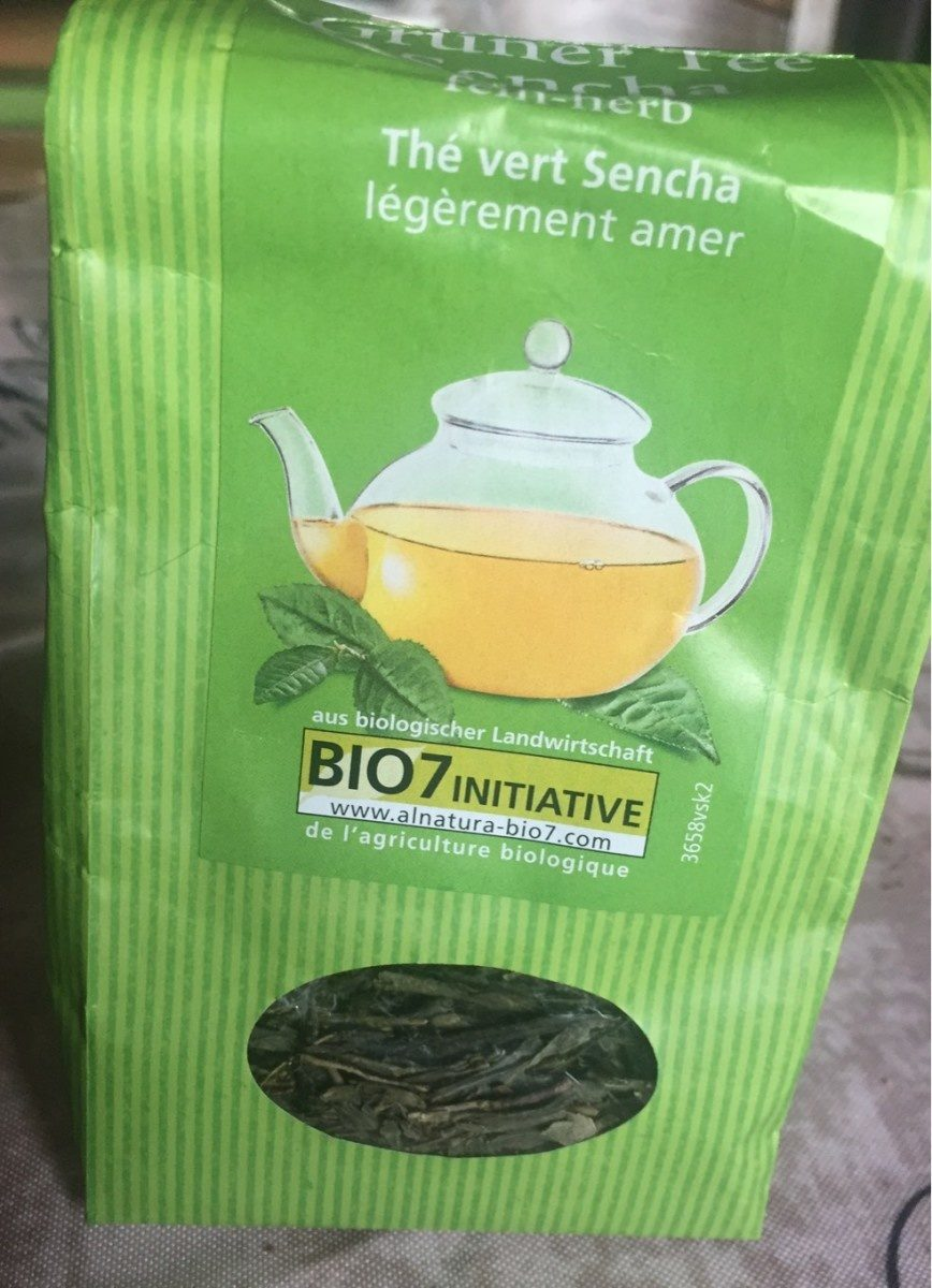 Alnatura Grüner Tee Sencha - Produit - fr