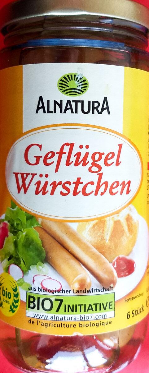 Bio Geflügel Würstchen - Produit - de