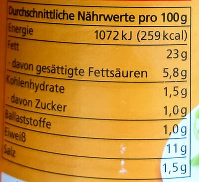 Bio Geflügel Würstchen - Informations nutritionnelles - de