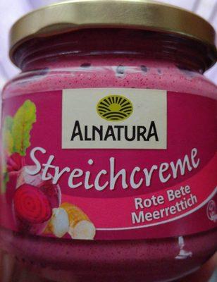 Streichcreme - Rote Beete, Meerrettich - Produit - fr
