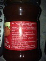 Confiture fraise - Ingrediënten