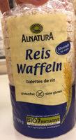 Reis Waffeln glutenfrei - Prodotto - de